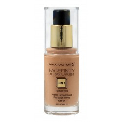 MAX FACTOR Podkład FACEFINITY 3w1 nr 77 Soft Honey  30ml