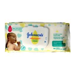 Johnson's Baby Cotton Touch Chusteczki nawilżane dla dzieci  1op.-56szt