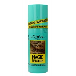 Loreal Magic Retouch Spray do retuszu odrostów nr 7.3 Średni i Ciemny Blond  75ml