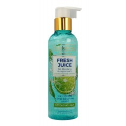 Bielenda Fresh Juice Żel micelarny detoksykujący z wodą cytrusową Limonka 190g