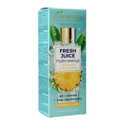 Bielenda Fresh Juice Hydro-esencja rozświetlająca z wodą cytrusową Ananas 110ml