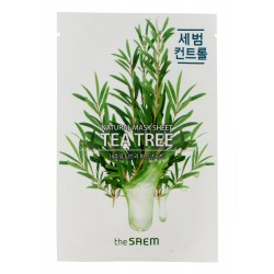 The SAEM Natural Mask Sheet Maska na tkaninie Tea Tree  21ml