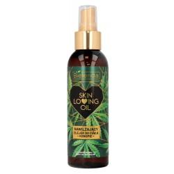 Bielenda Skin Loving Oil Olejek do ciała nawilżający Konopie  150ml