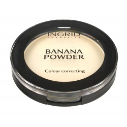 Ingrid Banana Powder Puder bananowy do twarzy  10g