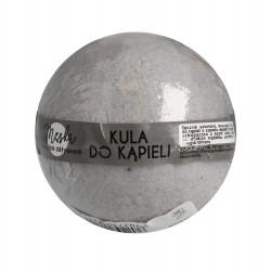 LaQ Kula musująca do kąpieli dla mężczyzn z aktywnym węglem - szara  100g