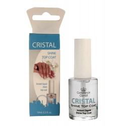 Constance Carroll Cristal Shine Top Coat Top nabłyszczający na lakier  10ml