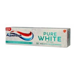 Aquafresh Pure White Pasta do zębów Soft Mint  75ml