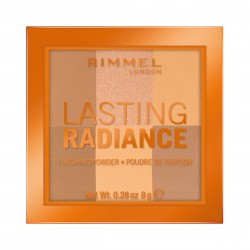 Rimmel Lasting Radiance Puder rozświetlający nr 002 Honeycomb  8g