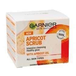 Garnier Skin Naturals Apricot Scrub Peeling morelowy do twarzy  50ml