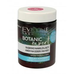 Eveline Botanic Expert Głęboko Nawilżający Krem na dzień i noc Olejek Kokosowy 100ml