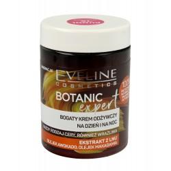 Eveline Botanic Expert Bogaty Krem odżywczy na dzień i noc Ekstrakt z Lnu 100ml