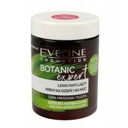 Eveline Botanic Expert Lekki Krem matujący na dzień i noc Drzewo Herbaciane 100ml
