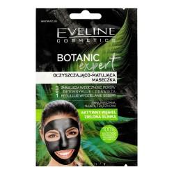 Eveline Botanic Expert Maseczka oczyszczająco-matująca 3w1 Aktywny Węgiel 2x5ml