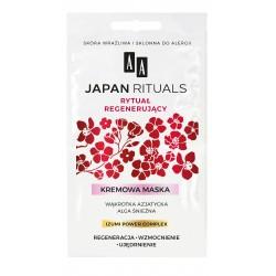 AA Japan Rituals Maska kremowa na twarz Rytuał Regenerujący  4mlx2