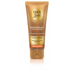 Dax Sun Samoopalacz do twarzy i ciała Extra Bronze - ciemna karnacja  75ml