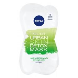 Nivea Urban Skin Detoks Maska upiększająca peel-off  2x5ml