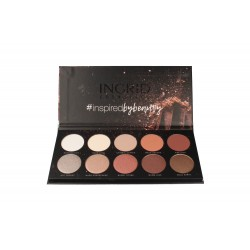 Ingrid Matt and Glam Paleta Cieni do powiek Nude (10)  27g