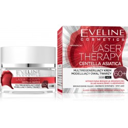 Eveline Laser Therapy Centella Asiatica 60+ Multiregenerujący Krem na dzień i noc  50ml