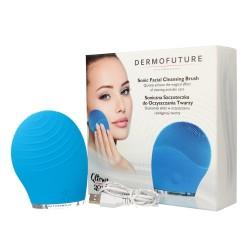 Dermofuture Technology Szczoteczka soniczna do oczyszczania twarzy niebieska  1szt
