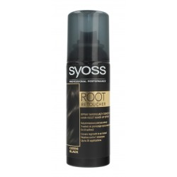 Syoss Root Retoucher Spray maskujący odrosty - Czerń  120ml