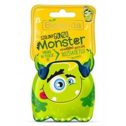 Bielenda Monster Maska w płacie 3D rozświetlająca Szalony Gonzo  1szt