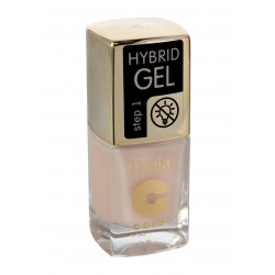 Delia Cosmetics Coral Hybrid Gel Emalia do paznokci nr 41  11ml