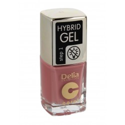 Delia Cosmetics Coral Hybrid Gel Emalia do paznokci nr 44  11ml