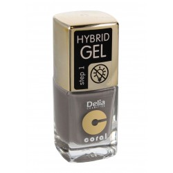 Delia Cosmetics Coral Hybrid Gel Emalia do paznokci nr 45  11ml