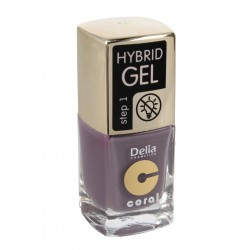 Delia Cosmetics Coral Hybrid Gel Emalia do paznokci nr 46  11ml
