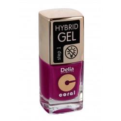 Delia Cosmetics Coral Hybrid Gel Emalia do paznokci nr 47  11ml
