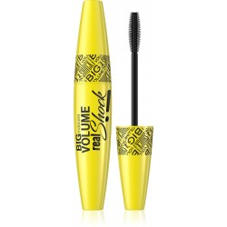 Eveline Maskara Big Volume Real Shock czarna  10ml