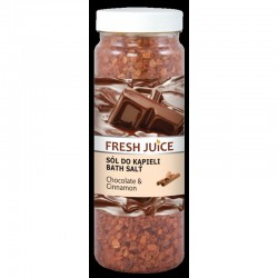 Fresh Juice Sól do kąpieli Chocolate & Cinnamon  700g