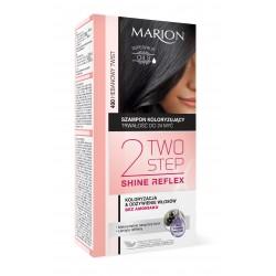 Marion Two Step Shine Reflex Szampon koloryzujący nr 400 Hebanowy Twist  1op.