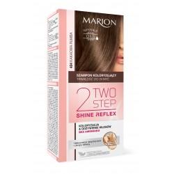 Marion Two Step Shine Reflex Szampon koloryzujący nr 404 Kakaowa Rumba  1op.