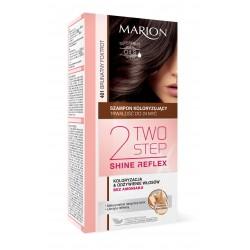 Marion Two Step Shine Reflex Szampon koloryzujący nr 401 Brunatny Fokstrot  1op.
