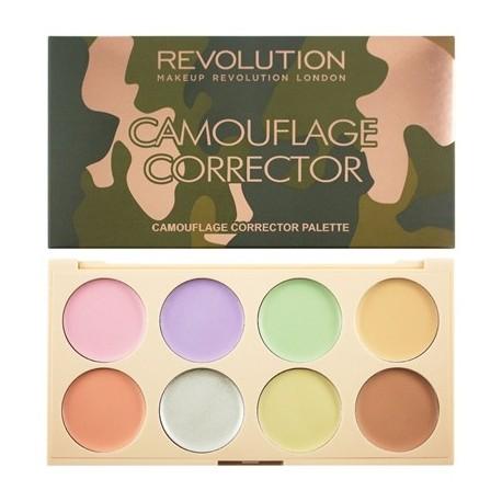 Makeup Revolution Camouflage Corrector Palette Zestaw do korygowania niedoskonałości  10g