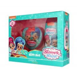 Uroda for Kids Zestaw prezentowy Shimmer & Shine (żel pod prysznic 2w1 250ml+gąbka do mycia)
