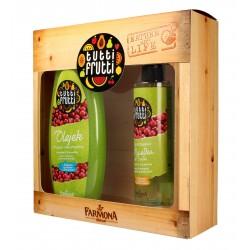 Farmona Zestaw prezentowy Tutti Frutti Gruszka&Żurawina (olejek do kąpieli 425ml+mgiełka do ciała 200ml)