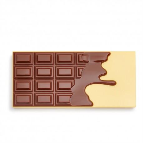 I Heart Revolution Paleta cieni do powiek Creme Brulee Chocolate