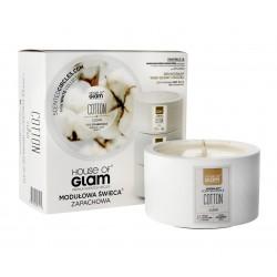 House Of Glam Modułowa Świeca zapachowa Cotton Clean  200g