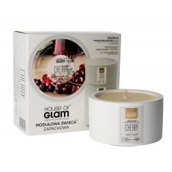 House Of Glam Modułowa Świeca zapachowa Sweet Cherry Liquer  200g
