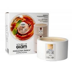 House Of Glam Modułowa Świeca zapachowa French Apple Cake  200g