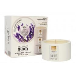 House Of Glam Modułowa Świeca zapachowa Virgin Lavender  200g