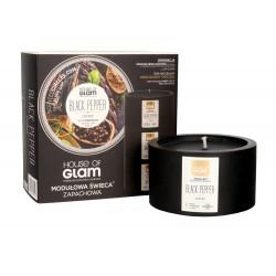 House Of Glam Modułowa Świeca zapachowa Black Pepper & Coffee  200g