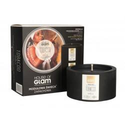 House Of Glam Modułowa Świeca zapachowa Tobacco & Vanilla  200g