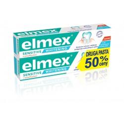 Elmex Sensitive Whitening Pasta do zębów wybielająca  75ml x 2
