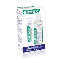 Elmex Zestaw w kasecie Sensitive (płyn do płukania ust 400ml + pasta do zębów 75ml)