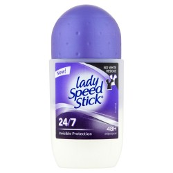 Lady Speed Stick Dezodorant roll-on 24/7 Invisible Protection  50ml