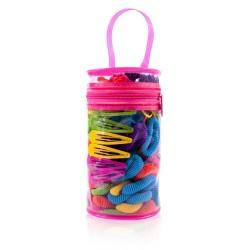 DONEGAL ZESTAW kolorowych ozdób do włosów Baby Color Set (FA-5509)  1op-.500szt.