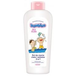 """BAMBINO Żel do mycia ciała i włosów 2w1 dla dzieci i niemowląt """"Dzieciaki""""-na łódce  400ml"""